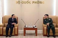 Mantendrá Ministerio de Defensa de Vietnam apoyo a lucha antiepidémica de Laos