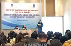 Buscan promover economía de Vietnam en post-pandemia