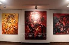 Exposición destaca símbolo de búfalo en cultura vietnamita