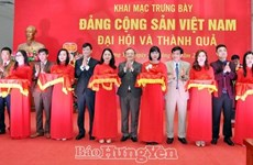 """Inauguran exposición """"Partido Comunista de Vietnam - Congreso y Resultado"""" en provincia norteña"""