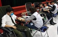 Lanzan en localidades vietnamitas programa de donación de sangre voluntaria
