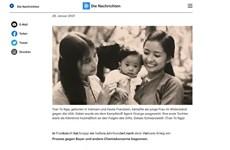 Radio alemana destaca fuerte determinación de vietnamita víctima del Agente Naranja/dioxina