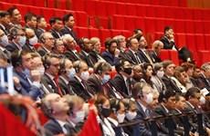 Laos envía mensaje de congratulación al XIII Congreso partidista de Vietnam