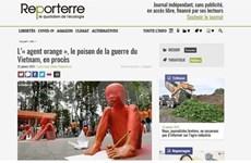 """Prensa francesa: """"Una demanda histórica"""" de las víctimas del Agente Naranja/Dioxina en Vietnam"""