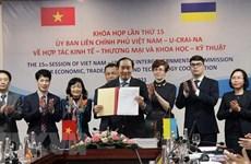Vietnam y Ucrania buscan promover intercambio comercial
