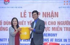 UNFPA ayuda a ancianos en provincias vietnamitas afectadas por inundaciones