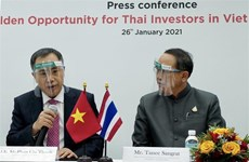 """Presentan """"oportunidades doradas"""" para inversionistas tailandeses en Vietnam"""