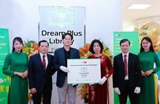 Inauguran biblioteca para niños en Hanoi