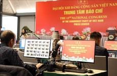 Facilitan cobertura en línea sobre Congreso partidista de Vietnam para reporteros extranjeros