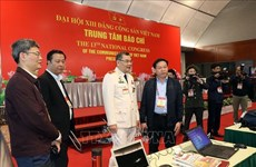 Policía de Vietnam por garantizar máxima seguridad del XIII Congreso partidista