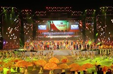Programa artístico honra éxito del XIII Congreso partidista de Vietnam