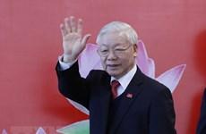 Felicitan dirigentes mundiales a reelegido secretario general del Partido Comunista de Vietnam