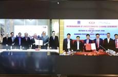 Grupo petrolero de Vietnam y empresa taiwanesa promueven cooperación