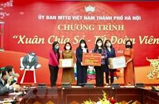 Hanoi celebra programa humanitario en ocasión de Tet
