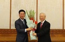 Designan dos altos dirigentes del Partido Comunista de Vietnam