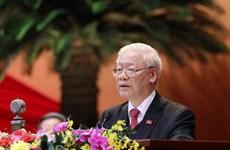 Líderes de países, partidos y amigos internacionales felicitan a máximo dirigente de Vietnam