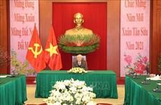 Máximos dirigentes de Vietnam y China sostienen conversación telefónica