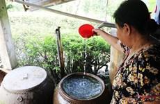 Provincia vietnamita regula fuentes de agua para producción y vida diaria