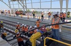 Instalan sistema de electrificación para línea de metro Ben Thanh-Suoi Tien