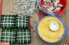 Comuna vietnamita de Hung Lo, famosa por elaboración de pastel tradicional para honrar a los ancestros
