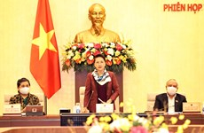 Clausuran reunión 53 del Comité Permanente del Parlamento vietnamita