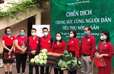 Cruz Roja de Vietnam une esfuerzos para apoyar a agricultores afectados por COVID-19