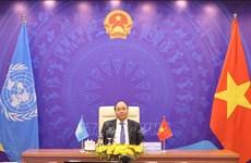 Primer ministro de Vietnam reitera determinación de su país en respuesta al cambio climático