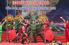 Repasan hitos gloriosos del escuadrón del Ejército de Salvación Nacional 1
