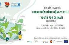 Debaten en Hanoi acciones juveniles contra el cambio climático