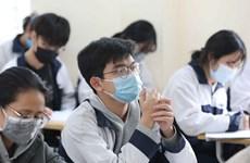 Estudiantes de Hanoi regresarán a la escuela la próxima semana