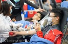 Inauguran Festival anual de donación voluntaria de sangre en Hanoi