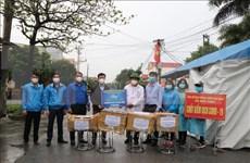 Agencia Vietnamita de Noticias acompaña a provincia de Hai Duong a combatir el COVID-19