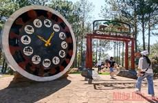 """""""Parque COVID-19"""" y mensaje sobre la confianza de Vietnam de vencer a la pandemia"""