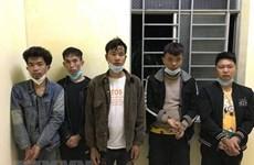 Detienen a cinco ciudadanos chinos por entrada ilegal a Vietnam