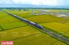 Estudian construcción de ferrocarril Ciudad Ho Chi Minh-Can Tho
