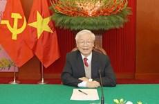 Líderes internacionales envían felicitaciones al máximo dirigente partidista de Vietnam