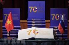 Publican libro sobre 70 años de relaciones entre Vietnam y Rusia