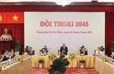 Dialoga premier de Vietnam con comunidad empresarial