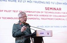 Coordinación efectiva entre Vietnam y Estados Unidos en desintoxicación de dioxina