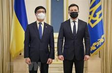 Presidente de Ucrania expresa deseo de impulsar cooperación con Vietnam