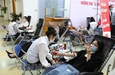 Festival de donación de sangre de Vietnam sobrecumple el plan con más de ocho  mil unidades