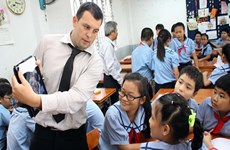 Provincia vietnamita de Bac Giang promueve enseñanza y aprendizaje del inglés