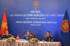 Asiste Vietnam a XI Reunión de Operaciones Militares de la ASEAN