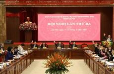 Hanoi se centra en implementación de agenda de trabajo para el próximo quinquenio