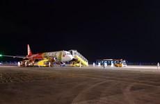 COVID-19: Aeropuerto vietnamita de Van Don reanuda vuelos internacionales