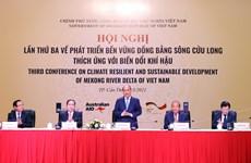 Premier Vietnam presenta nuevo enfoque estratégico para el desarrollo del Delta del río Mekong
