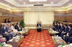 Vietnam concede importancia a cooperación en adaptación al cambio climático en delta del Mekong