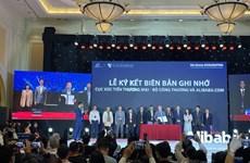 Vietnam apoya a empresas exportadorea a través de cooperación con el Grupo Alibaba