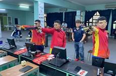 Atletas vietnamitas de tiro se miden en Campeonato Mundial en la India