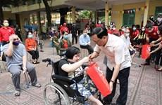 Lanzarán en Vietnam en mayo el mes humanitario para una comunidad segura